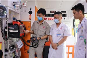 Đảm bảo chất lượng cấp cứu ngoại viện với xe cứu thương cao cấp
