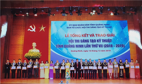 Hiệu quả triển khai Hệ thống báo cáo sự cố y khoa được ghi nhận tại Hội thi Sáng tạo kỹ thuật tỉnh Quảng Ninh lần thứ VII (2018 - 2019)