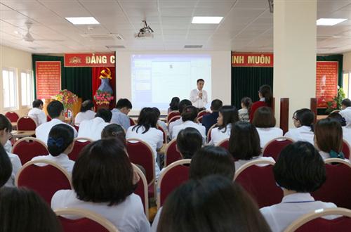 Tập huấn công tác xã hội trong bệnh viện năm 2018