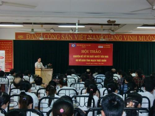 Thông tin hội thảo khoa học chuyên đề nội khoa tháng 7 năm 2012