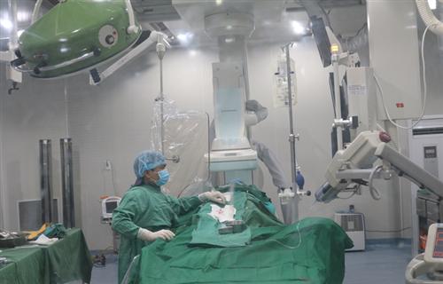 Triển khai thành công kỹ thuật nút mạch điều trị u xơ tử cung