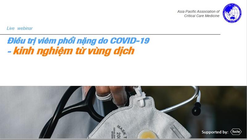 Thông báo 3 Hội thảo trực tuyến về dịch bệnh COVID-19 trong tháng 4/2020