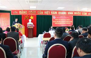 Hội nghị đại biểu CBVC LĐ bệnh viện năm 2018