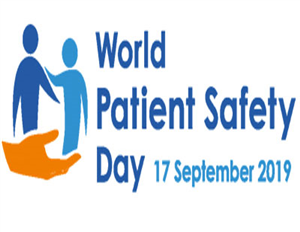 """""""Speak up for patient safety!""""  (Hãy lên tiếng vì sự an toàn của người bệnh!)"""