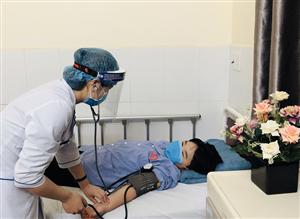 Người bệnh hài lòng và yên tâm khi đến Bệnh viện khám chữa bệnh mùa COVID