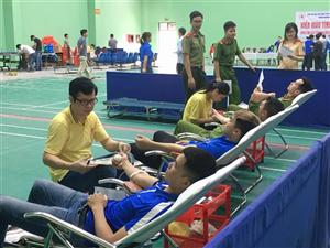 Hưởng ứng ngày Toàn dân hiến máu tình nguyện