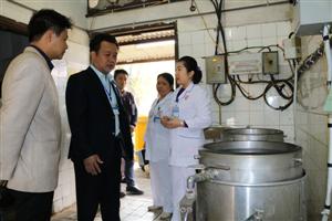 Kiểm tra công tác xử lý chất thải y tế tại bệnh viện