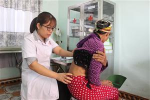 Chương trình khám bệnh tình nguyện tại xã Thượng Yên Công