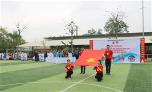 Chương trình Khai mạc hội thao toàn bệnh viện năm 2019