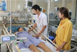 Báo động đỏ cứu sống người bệnh bị sốc đa chấn thương