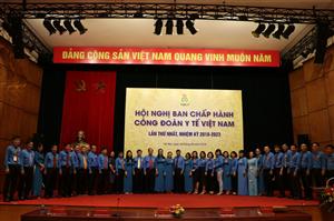 Đại hội Công đoàn Y tế Việt Nam lần thứ XIII, nhiệm kỳ 2018-2023