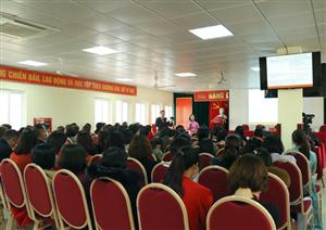 Hội nghị Đại biểu cán bộ viên chức Bệnh viện năm 2021