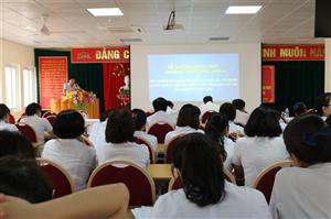 Học tập, quán triệt, truyên truyền và triển khai thực hiện các nghị quyết hội nghị Trung ương 7 khóa XII