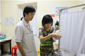 Đoàn kiểm tra Bộ Y tế về công tác quản lý chất thải tại bệnh viện