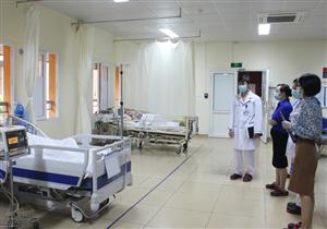 Đoàn kiểm tra Sở Y tế Quảng Ninh làm việc tại Bệnh viện