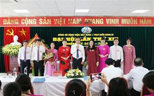 Đại hội Đảng bộ Bệnh viện Việt Nam - Thụy Điển Uông Bí Khóa XIV, nhiệm kỳ 2020 - 2025