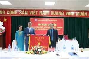 Hội nghị đại biểu cán bộ viên chức bệnh viện năm 2019