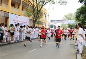 Giải chạy việt dã lần thứ nhất hưởng ứng ngày sức khỏe Việt Nam năm 2019