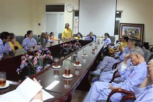 Dân chủ các ý kiến đóng góp từ phía Hội đồng người bệnh
