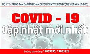 COVID-19: Những số liệu cập nhật tình hình mới nhất