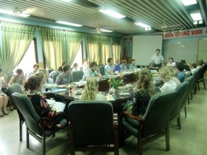 Hoạt động đào tạo sinh viên Y khoa Thụy Điển (Global Medicine) Tháng 5-2012