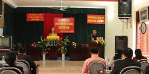 Bế giảng lớp đào tạo Nhân viên y tế thôn bản năm 2013