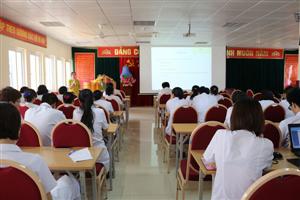 Lớp tập huấn dinh dưỡng lâm sàng năm 2018