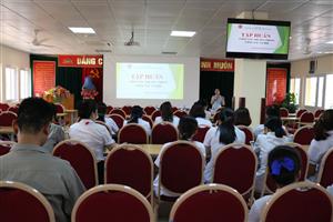 Tập huấn Truyền thông - Công tác xã hội trong bệnh viện