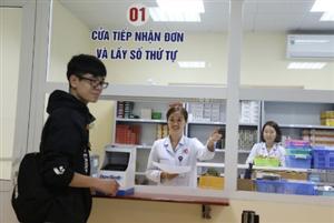 Lĩnh thuốc Bảo hiểm y tế tại Bệnh viện: Không còn phải chờ đợi lâu