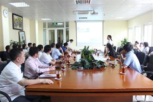 Đoàn Công tác Sở Y tế Hà Tĩnh tham quan trao đổi kinh nghiệm quản lý chất lượng tại Bệnh viện