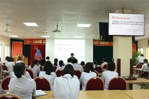 Tập huấn xây dựng chương trình đào tạo liên tục tại Bệnh viện
