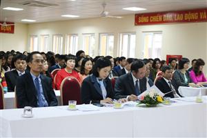 Hội nghị Đại biểu cán bộ công chức, viên chức người lao động Bệnh viện năm 2020