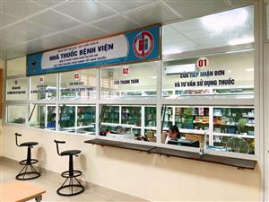 Đảm bảo tiêu chuẩn GPP - Thực hành tốt nhà thuốc tại Nhà thuốc Bệnh viện