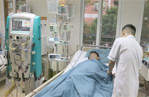 Cứu sống người đàn ông bị sốc nhiễm khuẩn nặng