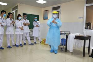 Chủ động nâng cao năng lực ứng phó dịch COVID-19 cho cán bộ nhân viên
