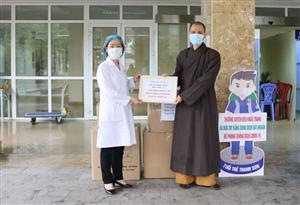 Công tác phòng chống dịch COVID-19 tiếp tục nhận được sự đồng hành, ủng hộ từ các nhà hảo tâm
