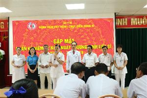 Công đoàn Bệnh viện Việt Nam Thụy Điển Uông Bí tri ân các gia đình chính sách