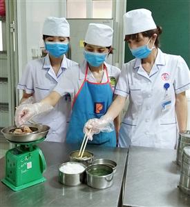 Đảm bảo vệ sinh an toàn thực phẩm trong phòng dịch