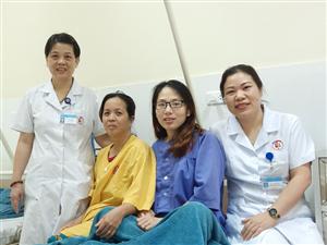 Phẫu thuật cứu sống sản phụ bị phù rau thai, tiền sản giật