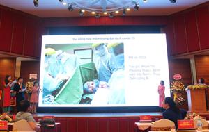 Bệnh viện đạt thành tích cao trong Cuộc thi Ảnh Nét đẹp Công đoàn và người lao động ngành Y tế