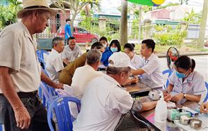 Chương trình khám sàng lọc một số bệnh thường gặp tại phường Thanh Sơn