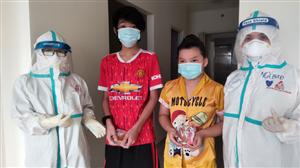 Trung thu sớm cho các bệnh nhi  tại bệnh viện dã chiến số 12- TP. Hồ Chí Minh