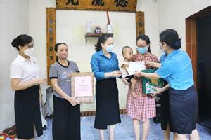 Vui tết trung thu cho con nhân viên y tế tham gia phòng chống dịch bệnh tại miền Nam