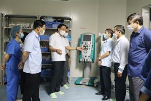 Sử dụng hiệu quả các thiết bị vật tư y tế, nguồn lực được hỗ trợ trong thực hiện công tác phòng, chống dịch COVID-19